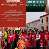 """Últimas 30 plazas para poder participar en la III edición de la ruta de senderismo """"Tierras Hinojoseñas 2021"""""""