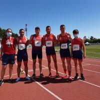 Tres medallas par el Club de Atletismo Antorcha en el Andaluz de Combinadas