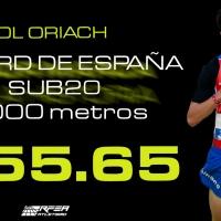 Manu Quijera, quinto en Split y Pol Oriach, récord de España sub20 de 3.000m