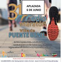 Comenzamos la mañana con el aplazamiento al seis de junio de la Media Maratón de Puente Genil