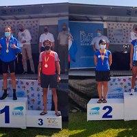 Manel Deli y Janine Lima, campeones de España de 100km en Santander