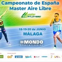 Desde hoy viernes, el Estadio Ciudad de Málaga recibe a casi 1.400 atletas de todas las categorías master