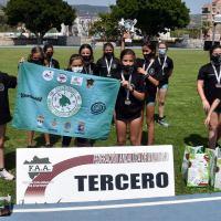 Bronce que sabe a Plata para el Equipo Femenino del C.D. Sierra Norte Córdoba en el andaluz Sub12