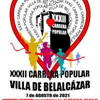 Anunciamos la apertura del plazo de inscripción de la XXXII Carrera Popular Villa de Belalcázar
