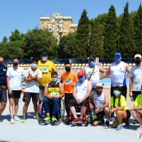 Importantes marcas en el Campeonato de España de Atletismo Adaptado